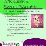 KK or Isabelle Wall Art