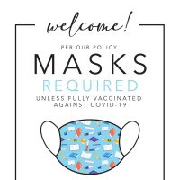 Masks in the library
