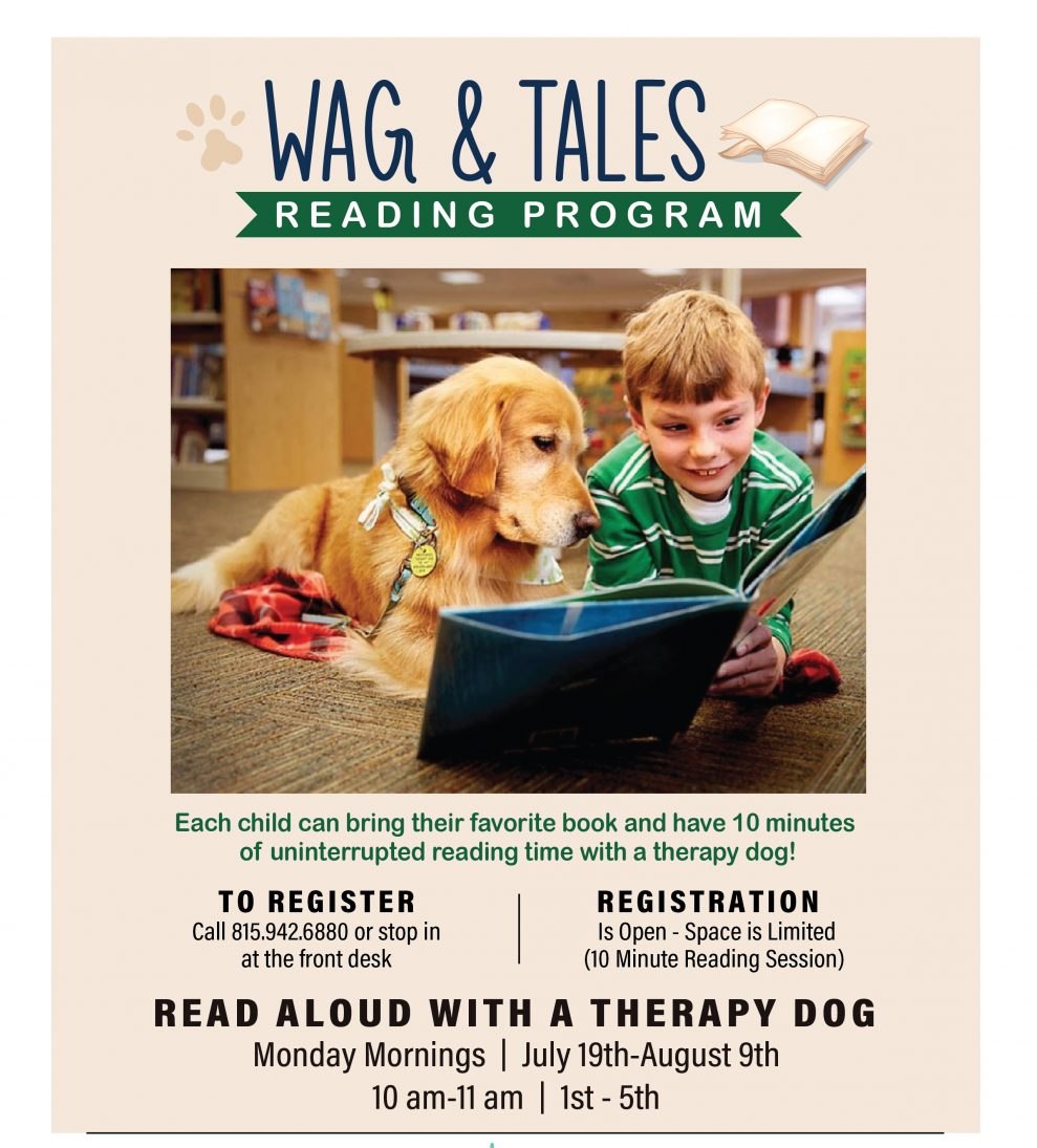 Wags & Tales Monday Storytime