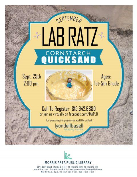 Lab Ratz Quicksand