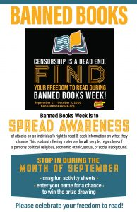 September is Banned Books Month