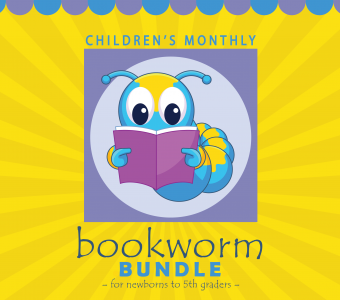 Sign up for our Bookworm Bundle. club by 9/26