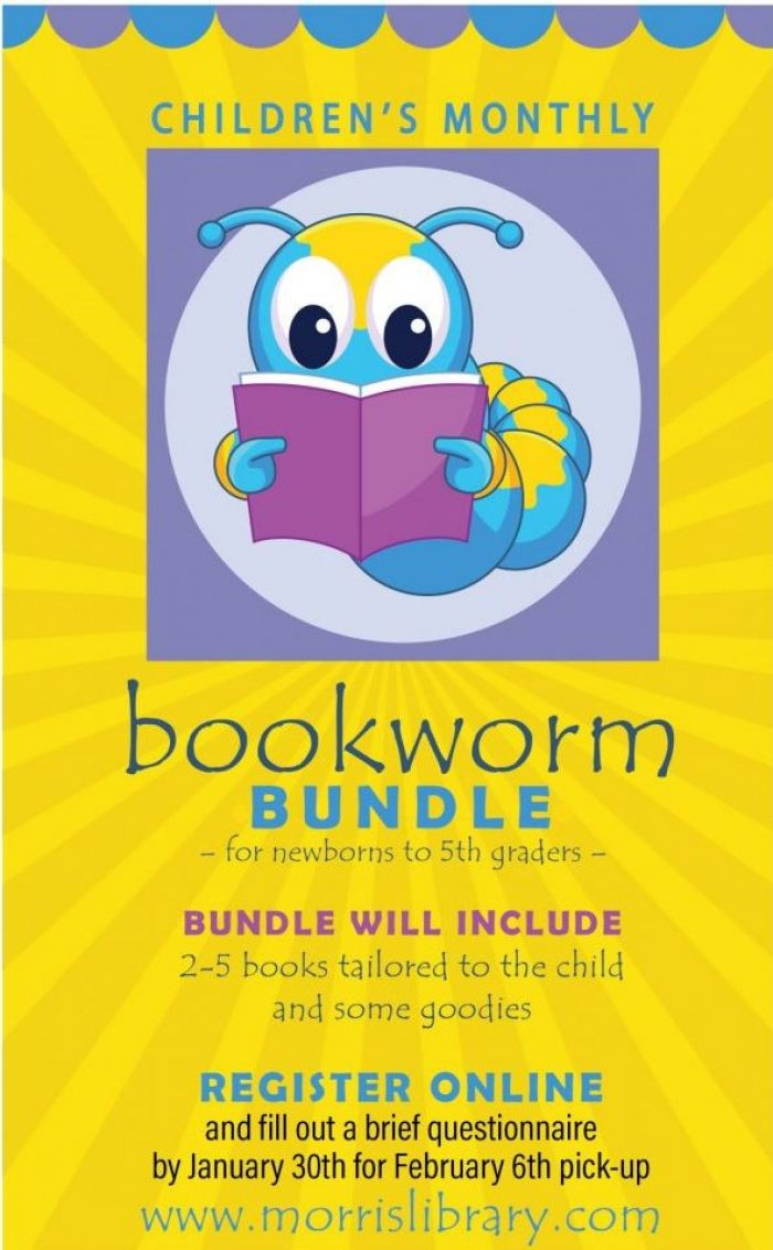Bookworm Bundle. Register by 1/30 for February Books.