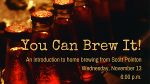 You Can Brew It!