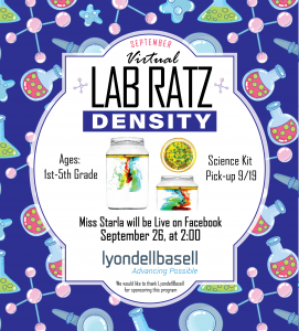 Lab Ratz: Density on 9/26